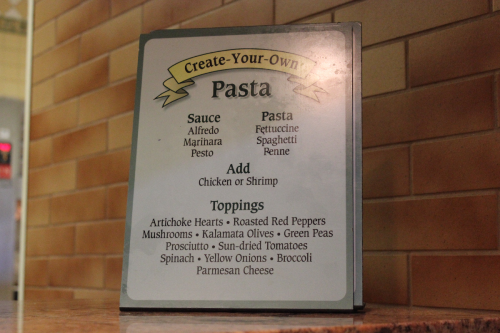 Create Your Own Pasta