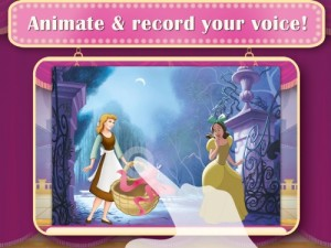 Disney Princess Story Theater Animate and Record