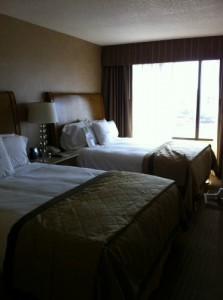 Double Tree Suites by Hilton Bedroom (Disneyland)