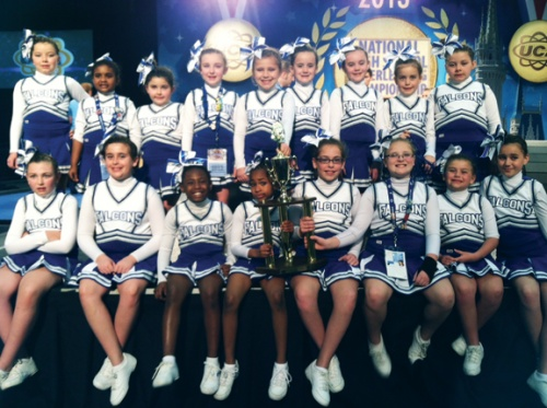Little ones compete at NHSCC in Disney World!