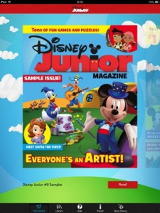 Disney Junior Digital Magazine