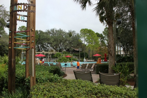 Port Orleans Riverside Themed Pool