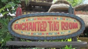 Tiki Room at WDW