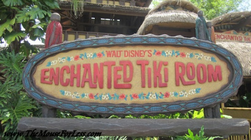 Tiki Room at WDW