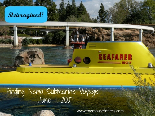 Finding Nemo Submarine Voyage Opens June 11, 2007