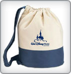 Walt Disney World Resort Canvas Drawstring Bag