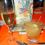 Carnaval Moscato and Frozen Szarlotka