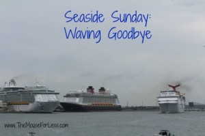 Waving Goodbye