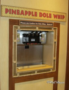Dole Whip at Captain Cooks