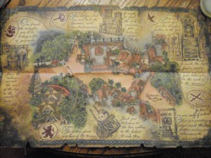 Pirate Treasure Map all
