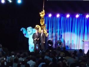 John Goodmand accepting award