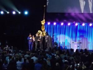 Tony Baxter Accepting Award
