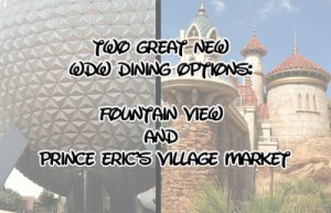 Fountain View and Prince Eric's
