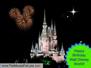Happy Birthday Walt Disney World