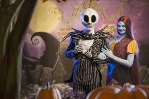 Jack Skellington and Sally - Copyright Disney