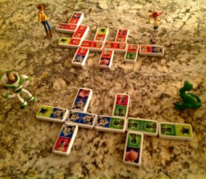Toy Story Dominos