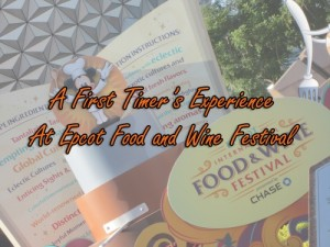 A First Timer's Experience at Food and Wine Festival