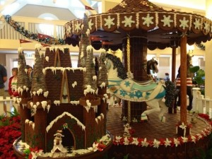 Gingerbread Carousel at Disney's Beach Club Resort