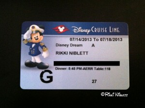 DCL Key to the World Card