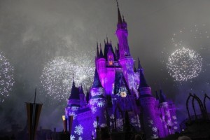 Special Holiday Wishes over Cinderella's Castle