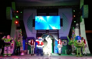 A Totally Tommorrowland Area Christmas show
