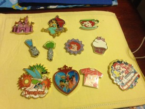 Pin Trading for Girls
