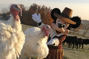 Thanksgiving with Disney