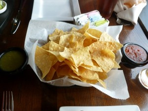 Chips and Salsa from La Hacienda