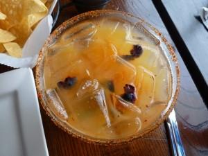Mango Blueberry Basil Maragrita