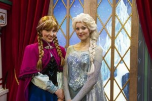 Elsa and Anna Meet & Greet