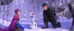 Anna, Olaf and Kristoff
