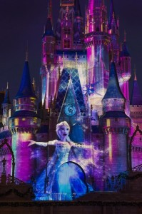 Frozen during Celebrate the Magic Castle Show
