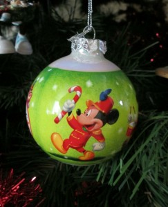 Mickey Ornament
