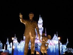 Partners Statue Disneyland