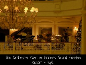 Band plays at Disney's Grand Floridian