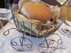 Cinderella Coach Bread Basket on the Disney Dream