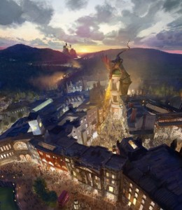 Diagon Alley Rendering ©2013 Universal Orlando. All Rights Reserved.