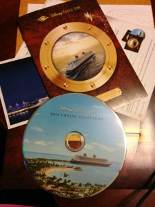 Disney Cruise Line DVD