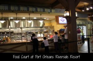 Food Court at Port Orleans