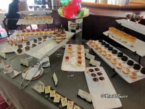 Palo Brunch Buffet Dessert Items