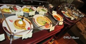 Palo Brunch Meal Options