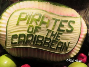 Pirates in the Caribbean buffet
