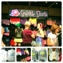Fabulous Skirts and Shirts at Expo