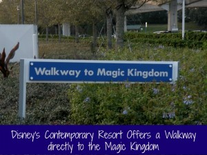 Walk to Magic Kingdom