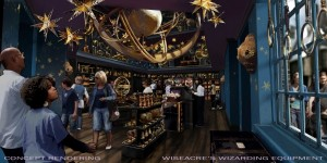 Wiseacre's Wizarding Equipment ©2013 Universal Orlando. All Rights Reserved.