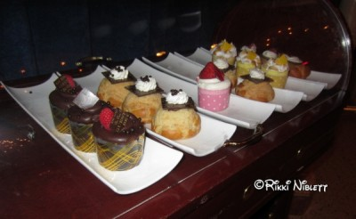 Be Our Guest Dessert Cart