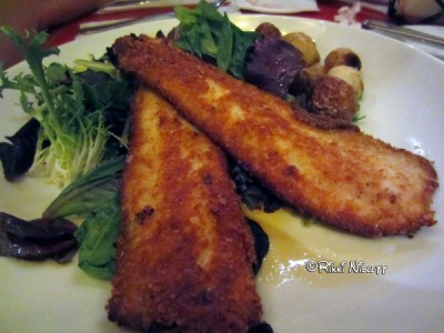 Citrus Crusted Trout