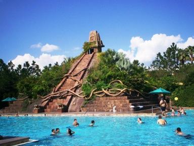 The pool at Disney's Coronado Springs Resort