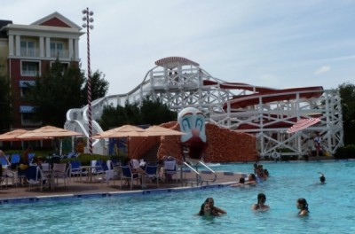 Luna Park Pool of Disney's Boardwalk Hotel