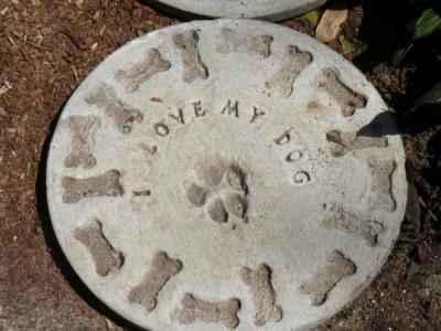 Garden Stone Idea